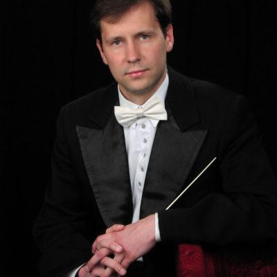 Conductor Maxim Kuzin